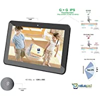 ValuePad VP112-11 10.1-Inch Quad Core Android 4.4.2 KitKat Tablet 16GB Storage, Dual Camera, 1024 x 600 HD Screen, Dual Speaker with HDMI Cable