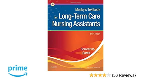Mosbys textbook for long term care nursing assistants 6e mosbys textbook for long term care nursing assistants 6e 9780323075831 medicine health science books amazon fandeluxe Images