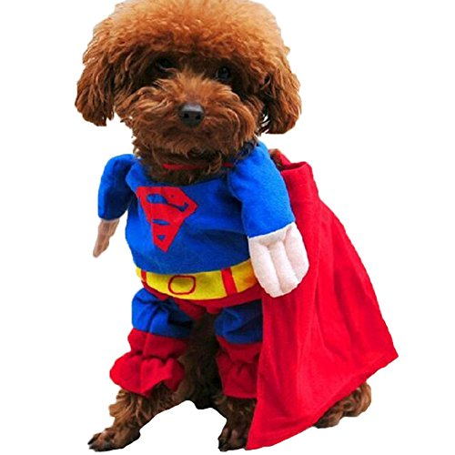 Funny Pet Clothes Dog Cat Cosplay Costume Suit Dressing up Party Apparel Clothing for Cat Dog Plus Hat - Dance Costumes Rhinestone Patterns