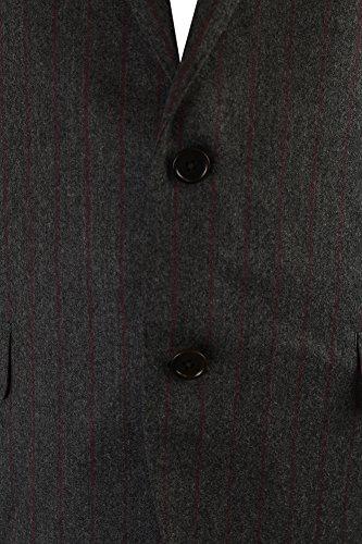 Tallia-Grey-Striped-Flannel-Pc-Suit-S-W