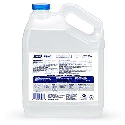 PURELL Foodservice Surface Sanitizer 1 Gallon - Kills Norovirus in 30 Seconds, Fragrance Free, RTU