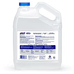 PURELL Foodservice Surface Sanitizer 1 Gallon - Kills Norovirus in 30 Seconds, Fragrance Free, RTU (Pack of 4)