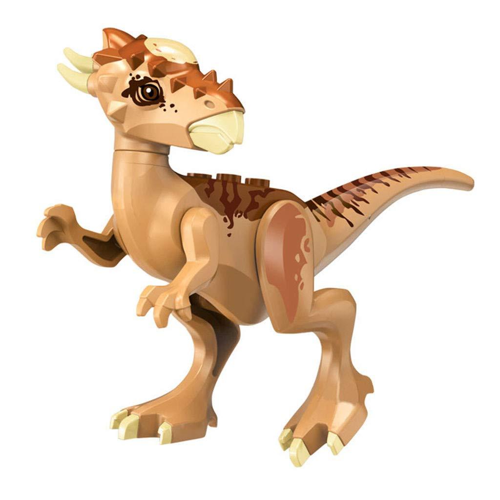Tuu 1PCS Building Blocks Toys Mini Dinosaur Toy Kids Educational Stem Toys (Multicolor)