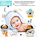 Monthly-Milestone-Blanket-for-Baby-Boy-Girl-Photography-Backdrop-Photo-Prop-with-Hashtag-LovedBeyondMeasure-Large-50-inch-x-50-inch-Soft-100-Organic-Muslin-Cotton-Fabric-Baby-Shower-Gift