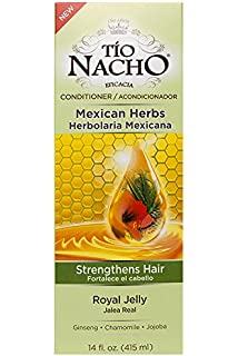 Tio Nacho Mexican Herb Hair Strengthening Conditioner with Royal Jelly, Ginseng, Aloe Vera,