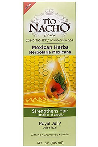 Tio Nacho Mexican Herb Hair Strengthening Conditioner with Royal Jelly, Ginseng, Aloe Vera, Wheat, Jojoba, 14 - Hair Royal Jelly