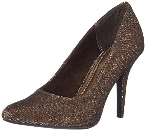 Marco Tozzi 22405 Damen Pumps Braun (Bronze Metall. 968)