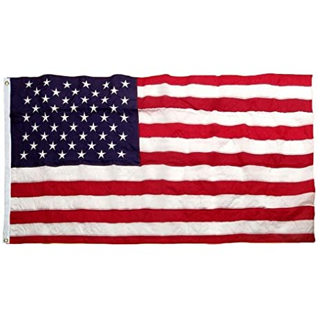 US Flag 5X9 5 Foot SolarMax Nylon