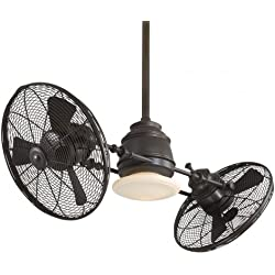 "Minka-Aire F802-ORB, Vintage Gyro, 42"" Dual Ceiling Fan, Oil Rubbed Bronze"