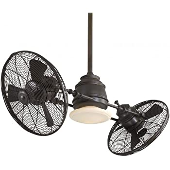 ceilings dual ceiling twin double transitional fan kit pin indoor heads outdoor light