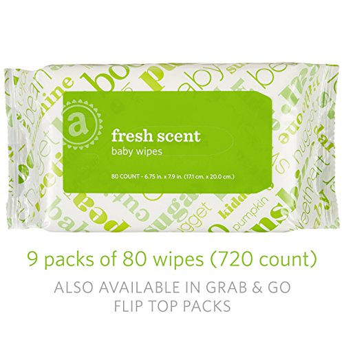 amazon elements baby wipes fresh scent 720 count resealable packs with tub buy online in. Black Bedroom Furniture Sets. Home Design Ideas