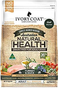 Ivory Coat Grain Free Turkey and Duck Dog Food, Adult and Senior, 2 kg