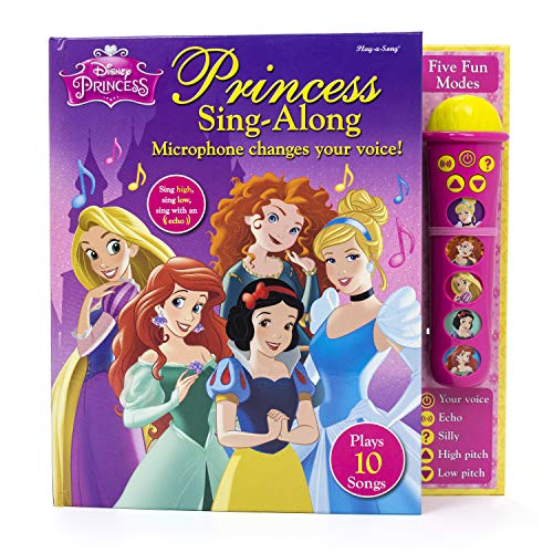 Disney Princess - Silly Sing-Along Voice Changing Microphone - Play-a-Song - PI Kids