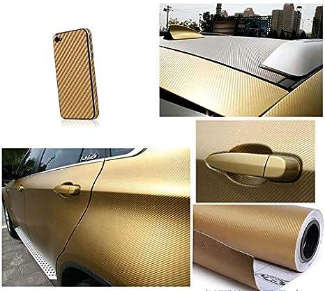 EZAUTOWRAP Free Tool Kit 2Pcs 5x10 Chevy Emblem Bowtie 5D High Gloss Black Carbon Fiber Vinyl Wrap Sticker Decal Film Sheet