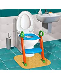 GPCT [Portable] [3-In-1] Kids Toddlers Potty Training Seat W/ Step Stool. Sturdy, Comfortable, Safe, Built In Non-Slip Steps W/ Anti-Slip Pads. Excellent Potty Seat Step Trainer For Boys/Girls/Baby BOBEBE Online Baby Store From New York to Miami and Los Angeles