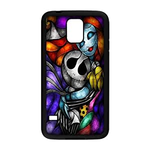 Customize Cartoon The Nightmare Before Christmas Back Cover Case for Samsung Galaxy S5