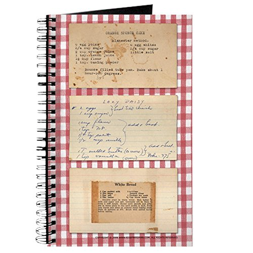 CafePress - Recipe Medley - Spiral Bound Journal Notebook, Personal Diary, Dot Grid
