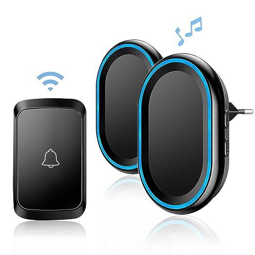 32 opinioni per Campanello Senza Fili da Esterno, Wireless Doorbell con Raggio d'Azione 300M, 58