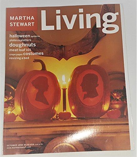 Martha Stewart Living Magazine October 1998 - Halloween