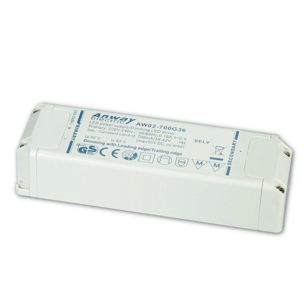 00011934 - ANWAY LED Treiber AW02-700G36 30W/700mA/30-42V