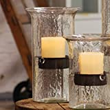 Black Forest Decor Glass Mountain Candle Holder - Medium