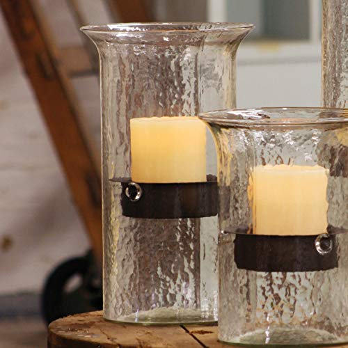 BLACK FOREST DECOR Glass Mountain Candle Holder - Medium