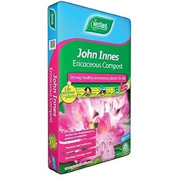 30L WESTLAND JOHN INNES COMPOST suelo recipiente expandibles para plantas ericáceas