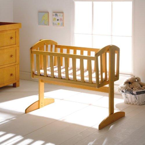 East Coast Vienna Swinging Crib (White) East Coast Nursery 7195