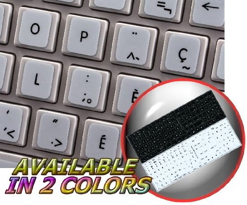 Read Online MAC FRENCH CANADIAN NON-TRANSPARENT STICKER FOR KEYBOARD ON WHITE BACKGROUND pdf