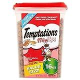 TEMPTATIONS MixUps Cat Treats (Chicken, Liver, Beef, 16 oz. -Pack of 3)