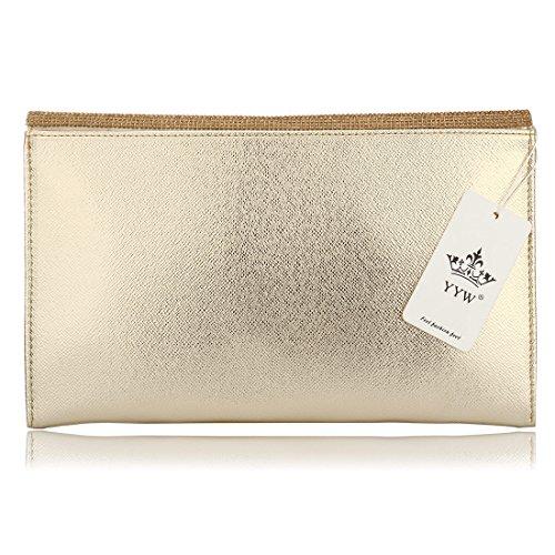 HT Party Handbag - Cartera de mano para mujer negro