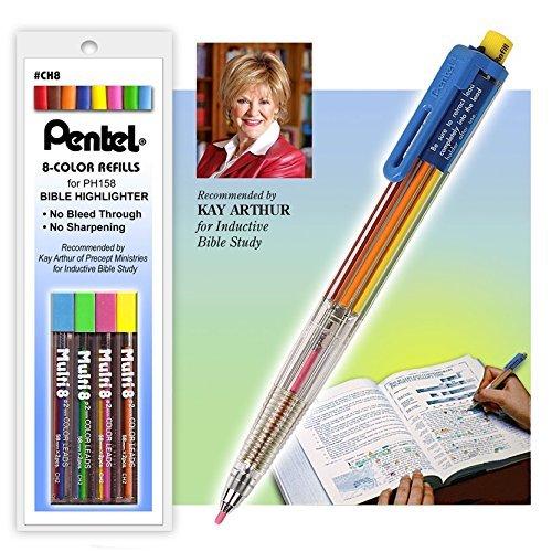 Pentel Multi Color Highlighter Refills