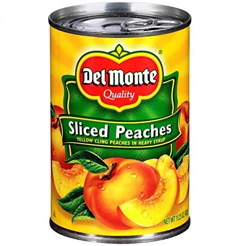 Del Monte Yellow Cling Sliced Peaches, 15.25 oz