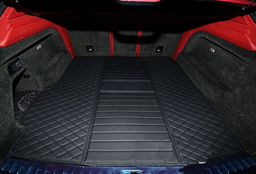 Eppar New Protective Rear Trunk Mat 1PC for BENTLEY Flying Spur 2014-2019 (Black) ()