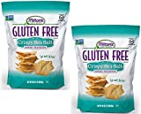 Milton's Craft Bakers Gluten Free 20 oz Crispy Sea Salt Baked Crackers (2 Pack)