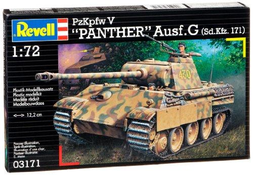 Revell Modellbausatz 03171 - PzKpfw V PANTHER Ausf.G (Sd.Kfz. 171) im Maßstab 1:72