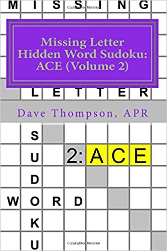 missing letter hidden word sudoku ace volume 2 mingling words