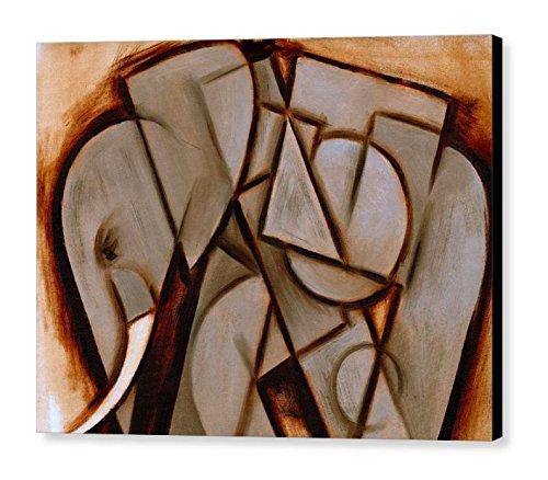 Amazon Com Tommervik Abstract Cubism Elephant Wall Art