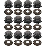 Twelve (12) Trimmer Head Spool & Cap Cover Kits Made to Fit Stihl Trimmers