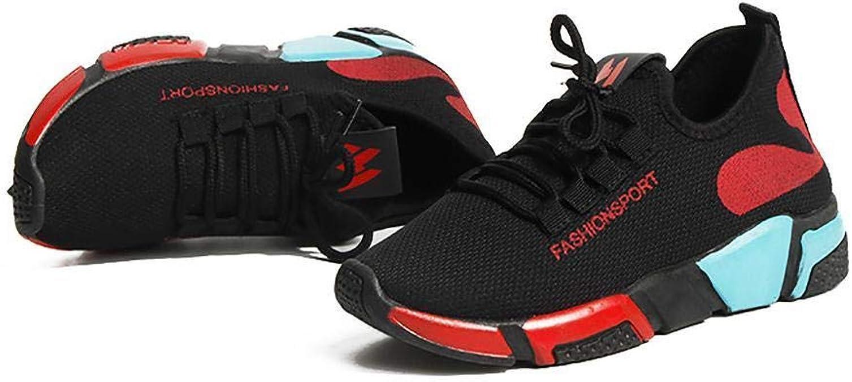 Zuionk - Zapatillas de Deporte Transpirables para Mujer con ...