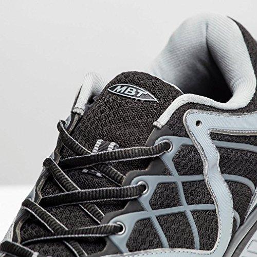 MBT JENGO 5 SPORT black silver 700461 Herren Sportschuhe schwarz silber