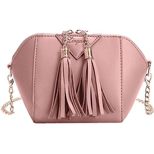 Women Mini Cross Body Shoulder Bags Fashionable Casual Handbags Leather Bag for Teen Girls F by TOPUNDER