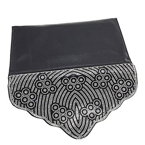 Mini Negro Crossbody Idea Folk Borse Elegante Regalo La Noche Y Bandolera Envelope Tote Glitter Moda Clutches Strass Bag De Fiestas Angkorly Mujer Para Bodas Barroco Oriental etnico wqIXFx66
