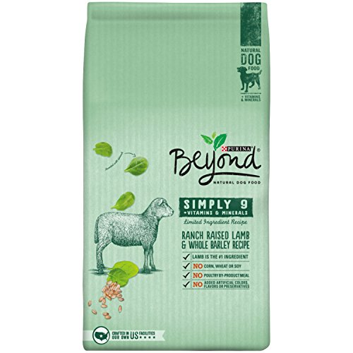 Cheap Purina Beyond Simply 9 Ranch-Raised Lamb & Whole Barley Recipe Adult Dry Dog Food – 3.7 lb. Bag