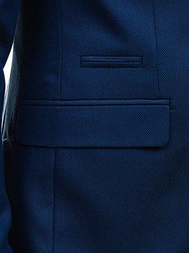 Da Uomo Fit Blu 4d4 Biblos Tasche – D'abito Elegante 54 Slim Bolf 1050b Xl Giacca Le Con RqzwAA