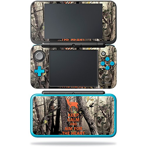 MightySkins Skin Compatible with Nintendo New 2DS XL - Deer Hunter | Protective, Durable, and Unique Vinyl Decal wrap Cover | Easy to Apply, Remove, and Change Styles | Made in The USA ()