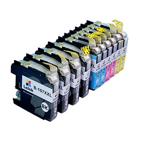 LC105 LC107 Ink 10 Pack Compatible with Brother Inkjet Printer MFC J4310DW J4410DW J4510DW J4610DW J4710DW