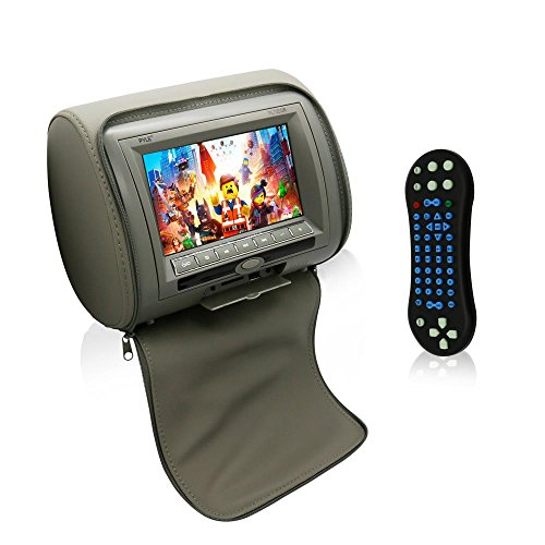 Pyle 2017 Upgraded HD Quality Car Headrest DVD Player Monito