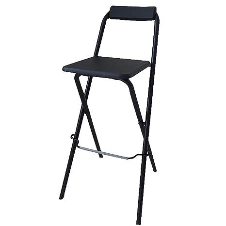 Astonishing Amazon Com Folding High Chair Breakfast Kitchen Bar Stool Customarchery Wood Chair Design Ideas Customarcherynet