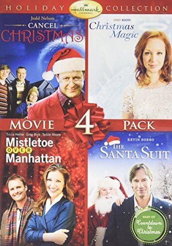 Hallmark 4 Pack Mistletoe Over Manhattan, Christmas Magic, Santa Suit DVD [Electronics]